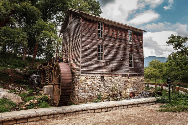 Photograph - Old Mill At Forbidden Caverns by Keith Allen