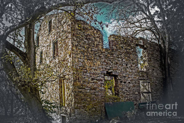 Village Creek Photograph - Old Mill House by Tom Gari Gallery-Three-Photography