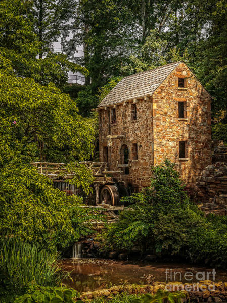 Photograph - Old Mill 3 by Larry McMahon