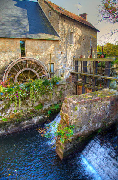 Wall Art - Photograph - Old Mill In Bayeux by W Chris Fooshee