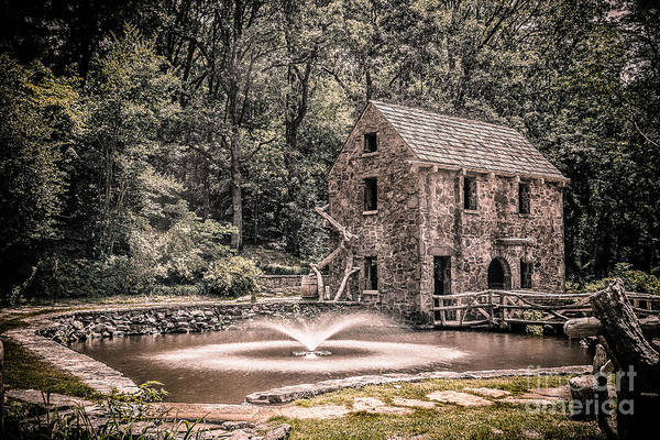 Photograph - Old Mill by Larry McMahon