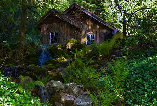 Photograph - Old Mill On A Sunny Afternoon - Garden Art by Jordan Blackstone
