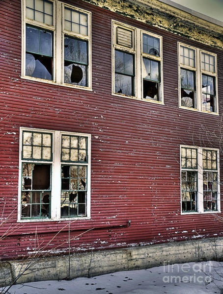 Photograph - Old Foster Mill Windows by Alana Ranney