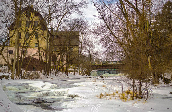 Photograph - Old Mill Winter by James  Meyer