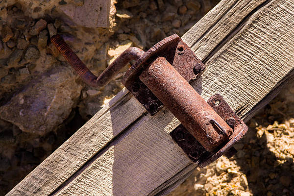 Photograph - Old Mine Crank by  Onyonet  Photo Studios
