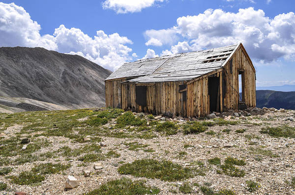 Crumble Photograph - Old Mining House by Aaron Spong