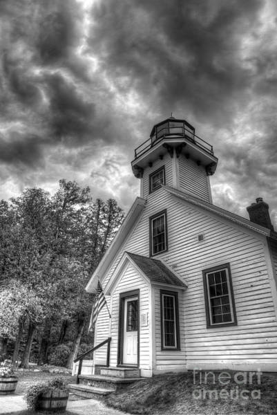 Traverse City Photograph - Old Mission Lighthouse by Twenty Two North Photography