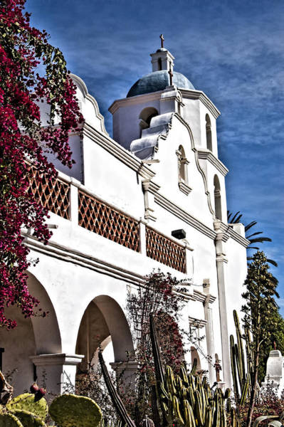 San Luis Rey De Francia Photograph - Old Mission San Luis Rey - California by Jon Berghoff