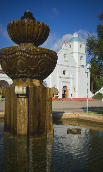 Saint Louis County Photograph - Old Mission San Luis Rey by See My  Photos