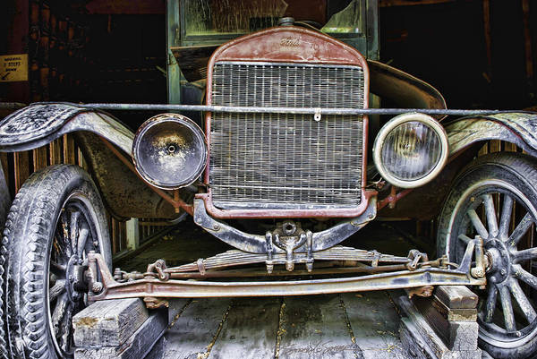 Photograph - Old Model T by Stacey Sather