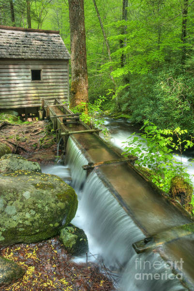 Wall Art - Photograph - Old Mountain Mill by Paul W Faust -  Impressions of Light