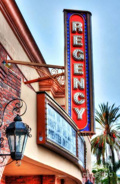 Photograph - Old Movie Theater 2 by Mel Steinhauer