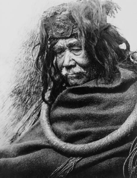 1910 Photograph - Old Nakoaktok Man by Aged Pixel
