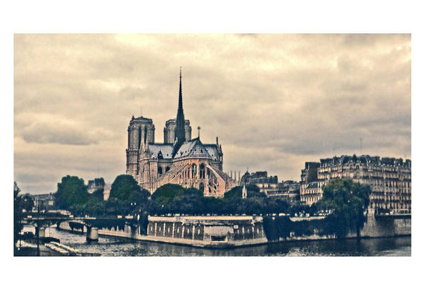 Photograph - Old Notre Dame by Gene Norris