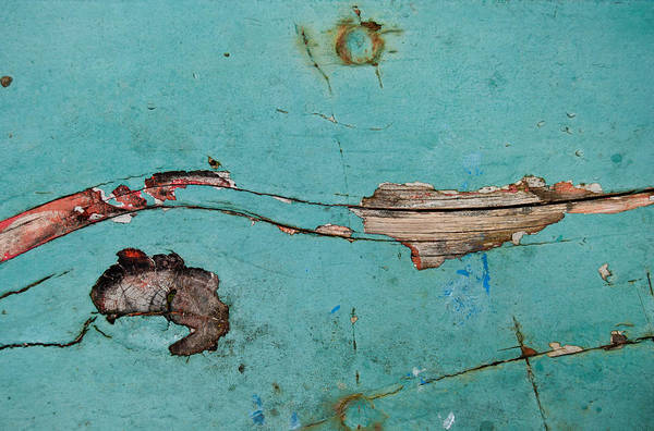 Photograph - Old Ocean - Abstract by Jani Freimann