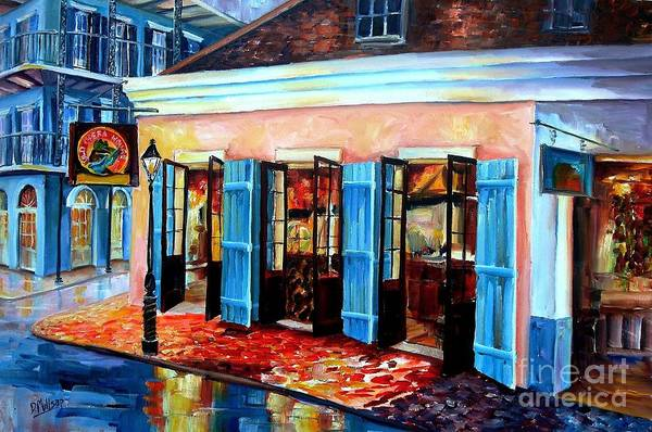 Bourbon Street Wall Art - Painting - Old Opera House-new Orleans by Diane Millsap