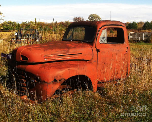 Photograph - Old Orange by Jamie Lynn