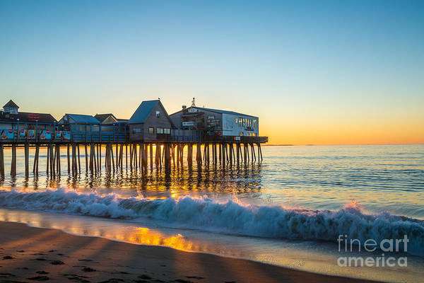Photograph - Old Orchard Beach Pier by Susan Cole Kelly