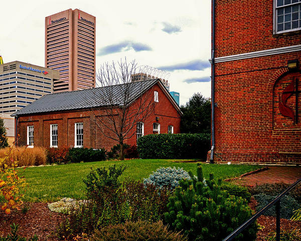 Photograph - Old Otterbein Nelker Sunday School Building by Bill Swartwout Photography