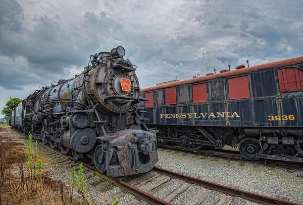 Wall Art - Photograph - Old Pennsylvania Steam Train  by Dave Sandt