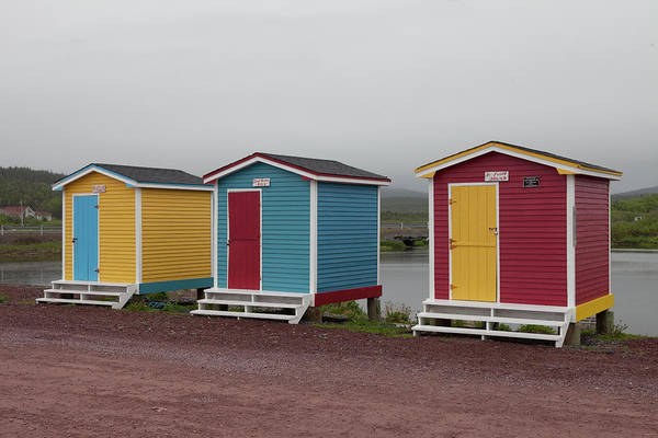 Maritime Provinces Photograph - Old Perlican, Newfoundland, Canada by Greg Johnston
