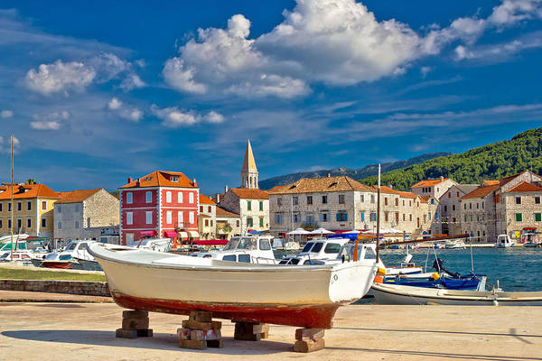 Starigrad Photograph - Old Pictoresque Tovn Of Starigrad Hvar by Brch Photography