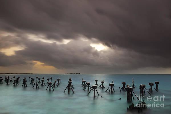 Bahia Honda Photograph - Old Pier In The Florida Keys by Keith Kapple