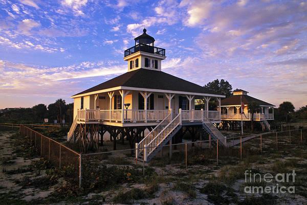 Boca Grande Photograph - Old Port Boca Grande Lighthouse - Fs000191 by Daniel Dempster