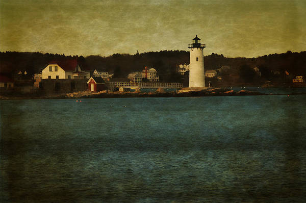 Wall Art - Photograph - Old Portsmouth Lighthouse by Mike Martin
