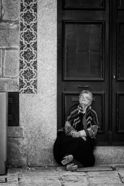 Photograph - Old Portuguese Woman by Pablo Lopez