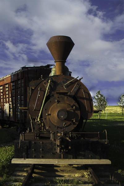 Old Prairie Train Art Print