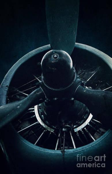 Photograph - Old Propeller  by David Lichtneker
