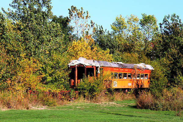 Photograph - Old Rail Car by Gary Gunderson