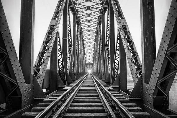 Photograph - Old Railway Bridge by Sonercdem