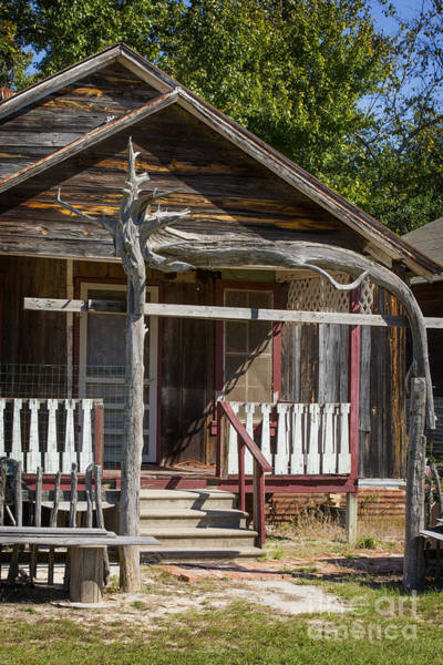 Photograph - Old Ranch Cabin In Antique Color 3008.02 by M K Miller