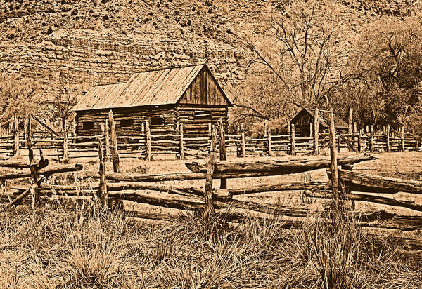 Photograph - Old Ranch by Leland D Howard