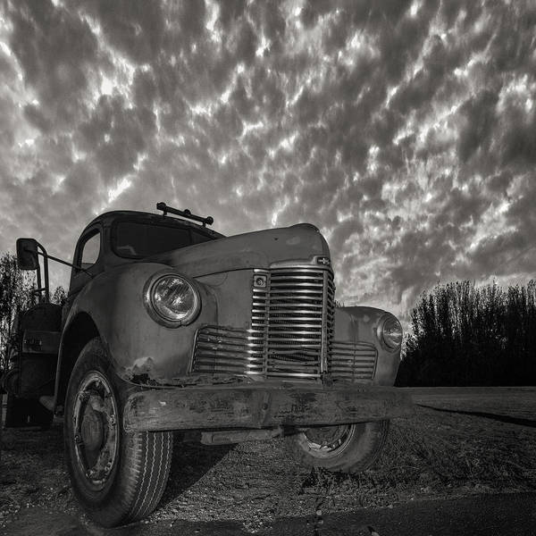 Wall Art - Photograph - Old Red  by Aaron J Groen