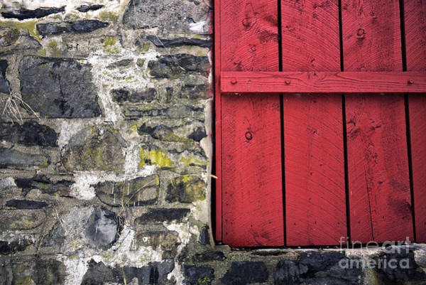 Photograph - Old Red In Bucks County by John Rizzuto