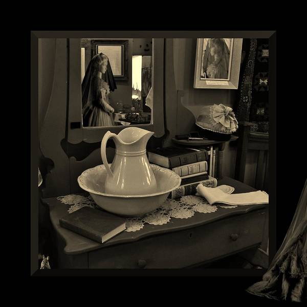 Photograph - Old Reflections by Barbara St Jean