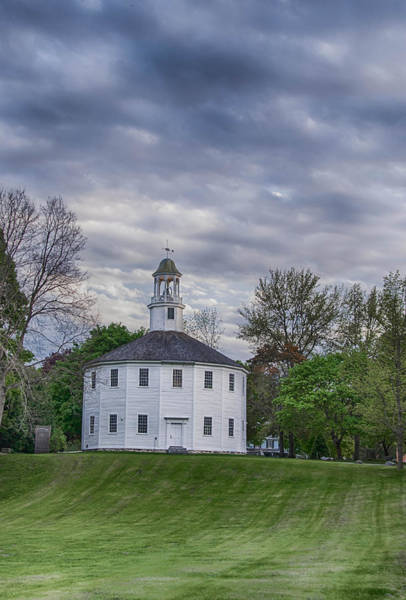 Photograph - Old Round Church 7d09237 by Guy Whiteley