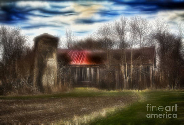 Photograph - Old Rustic Barn by Jim Lepard
