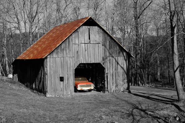 Old Rusty Barn  Art Print