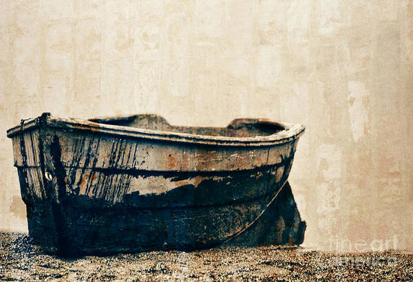 Photograph - Old Rusty Boat by Jeff Breiman