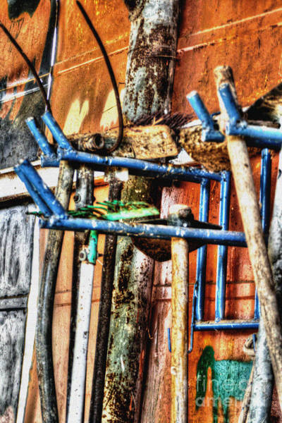 Photograph - Old Rusty Tools by Doc Braham