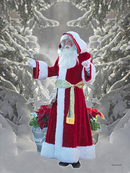 Wall Art - Photograph - Old Saint Nick by Thomas Woolworth