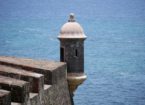 Photograph - Old San Juan - Watchtower by Richard Reeve