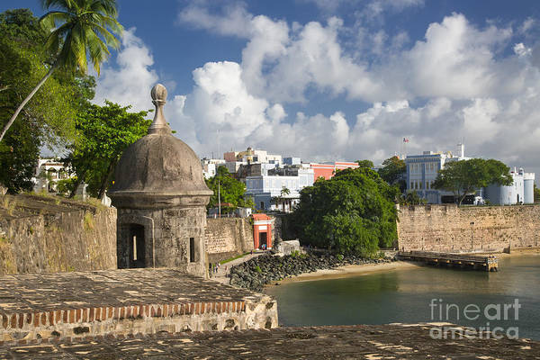 Sentry Box Photograph - Old San Juan by Brian Jannsen