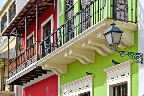 Photograph - Old San Juan Colors by Ricardo J Ruiz de Porras