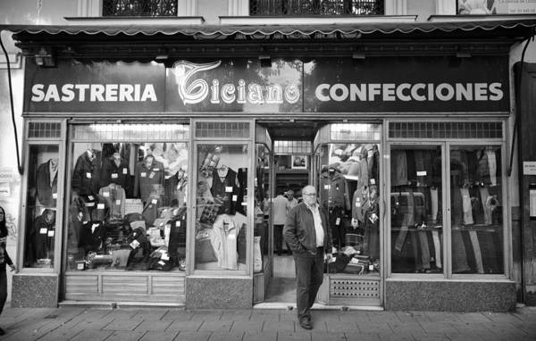Photograph - Old Sastreria In Madrid by Pablo Lopez