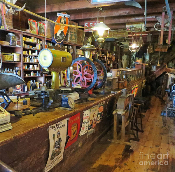 Wall Art - Photograph - Old Sautee Store 2 by Bob McGill